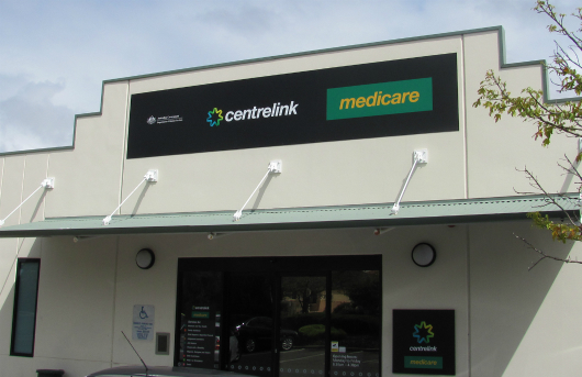 Centrelink and Medicare shopfront