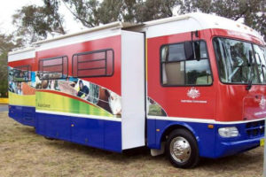 First mobile office in 2006.