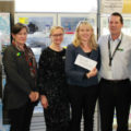 From L-R: Kip Stratford and Julie Johnston (Bendigo Smart Centre), Jennifer Fitzpatrick and Rachel Mason (The OTIS Foundation), Brendan Blandford (Service Manager - Bendigo Smart Centre), and Mike Armstrong (Bendigo Foodshare)